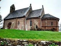 Église chez Kilpeck Photos stock