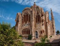 Église chez Novoelda, Valence y Murcie, Espagne Photographie stock