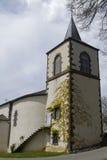 Église chez Queuille Photographie stock