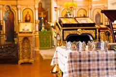 Église chrétienne à l'intérieur Image stock