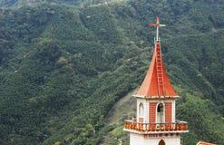 Église chrétienne colorée photo stock