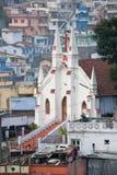 Église chrétienne dans Coonoor, Tamil Nadu, Inde Images libres de droits