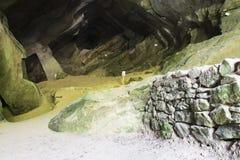 Église chrétienne en cavernes de Trévise Caglieron images libres de droits