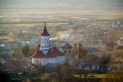 Église chrétienne en Roumanie, stupéfiant Image libre de droits