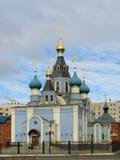 Église chrétienne orthodoxe Image libre de droits