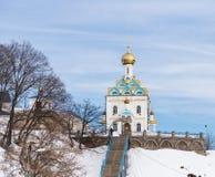 Église chrétienne russe photo libre de droits