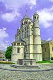 Église collégiale de saint Gertrude, Nivelles, Belgique Photos stock