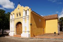 Église coloniale espagnole de style image stock