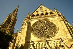 Église commémorative de la protestation dans Speyer Images stock