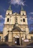 église Cracovie Images libres de droits