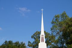 Église/croix Photos libres de droits