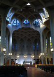 Église d'abbaye images stock