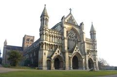 Église d'abbaye et cathédrale, rue Albans Photographie stock libre de droits