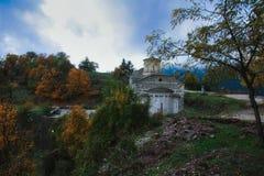 Église d'Agia Paraskevi à Trikala images stock