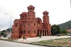 Église d'Agios Nikanoros, Chloi, Grèce Photographie stock libre de droits