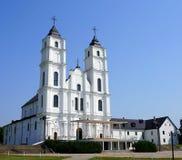 Église d'Aglona en Lettonie Image libre de droits