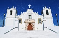 Église d'Algarve photographie stock