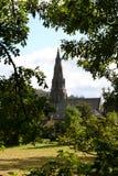 Église d'Ambleside. Image libre de droits