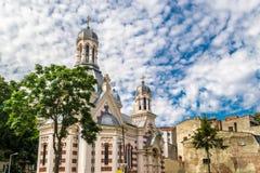 Église d'Amzei photo libre de droits