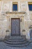 Église d'Annunziata Genzano di Lucania l'Italie photos libres de droits