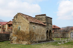 Église d'Antioch dans Mtskheta, capitale antique de la Géorgie Photographie stock libre de droits