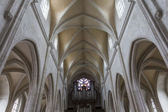 Église d'Antoine de saint, Compiegne, l'Oise, France Images libres de droits