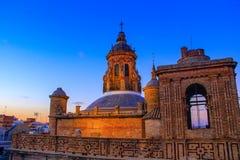 Église d'Anunciacion Sevilla Spain Andalusia Séville image stock