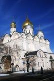 Église d'archanges à Moscou Kremlin Site de patrimoine mondial de l'UNESCO Photographie stock libre de droits