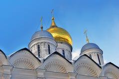 Église d'archanges à Moscou Kremlin Site de patrimoine mondial de l'UNESCO Photos stock