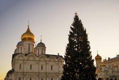 Église d'archanges de Moscou Kremlin Photo couleur photo stock