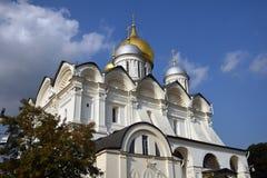 Église d'archanges de Moscou Kremlin Site de patrimoine mondial de l'UNESCO image stock