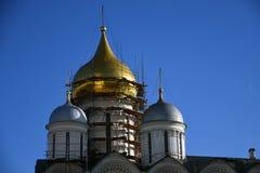 Église d'archanges de Moscou Kremlin Site de patrimoine mondial de l'UNESCO photos libres de droits