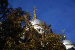 Église d'archanges de Moscou Kremlin Site de patrimoine mondial de l'UNESCO images libres de droits
