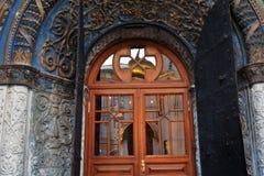 Église d'archanges de Moscou Kremlin Site de patrimoine mondial de l'UNESCO photographie stock libre de droits