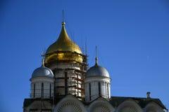 Église d'archanges de Moscou Kremlin Site de patrimoine mondial de l'UNESCO photos stock