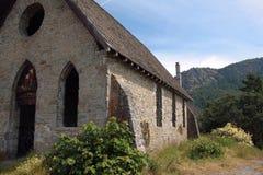 église d'architecture de la pierre 1800's Photographie stock libre de droits