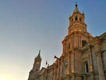 Église d'Arequipa Photographie stock libre de droits