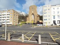 Église d'Arhitectural, avec la couleur gentille photo stock