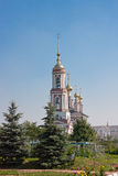 Église d'Arkhangel Mikhail et Flora et Lavra, ville Suzdal Photographie stock libre de droits