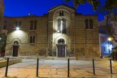 Église d'Athènes Photographie stock libre de droits