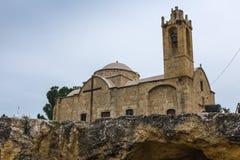 Église d'Ayios Dometios, Nicosie, Chypre Images libres de droits