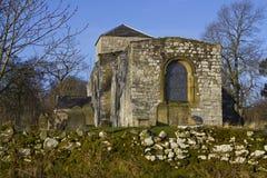 Église d'Edlingham northumberland photos stock