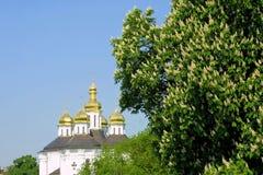 Église d'Ekateriniska dans Tchernigov Images libres de droits