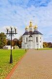 Église d'Ekateriniska dans Tchernigov, Ukraine Image stock