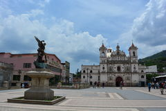 Église d'EL Calvario d'Iglesia à Tegucigalpa, Honduras Image libre de droits