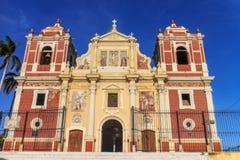 Église d'EL Calvario, Léon, Nicaragua photographie stock