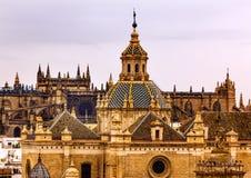 Église d'EL Salvador Andalusia Seville Spain Photographie stock