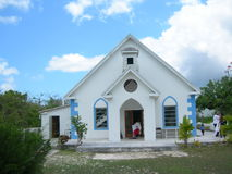 Église d'Eleuthera Photographie stock