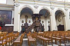 Église d'Elisabeth de saint à Bruges images libres de droits