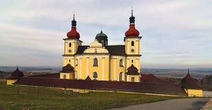 Église d'endroit de pèlerinage Image libre de droits